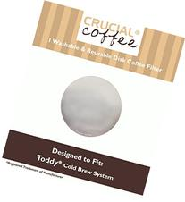Washable & Reusable Stainless Steel Disk Filter Fits All