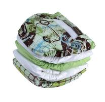 Kushies 5 Pack Washable Ultra-Lite Diaper For Infant,