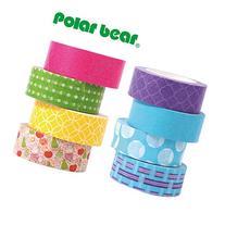 Polar Bear® Washi Masking Tape Collection, 0.59 Inch X 10