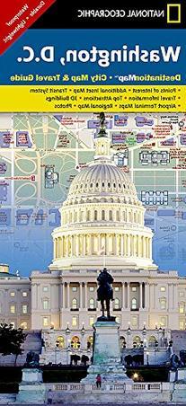 Washington, D.C., Destination Map, City Map & Travel Guide