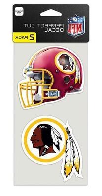 Washington Redskins Set of 2 Die Cut Decals by Wincraft, Inc