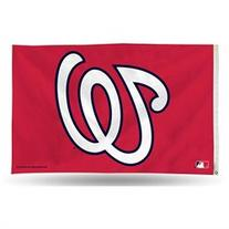 Washington Nationals MLB 3in x 5in Banner Flag