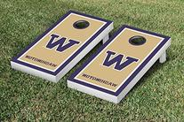 NCAA Washington Huskies Border Version Cornhole Game Set
