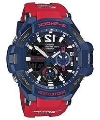 Men's Casio G-Shock Gravitymaster Red and Blue Watch