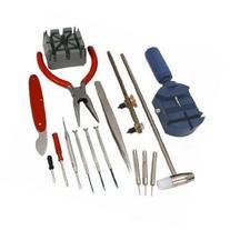 Pack of 16 Watch Back Opener Repair Tool Kit Band Pin Strap