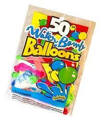 Celebrity Balloons 2-Inch Water Balloons in Assorted Colors