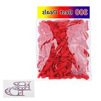 Water Balloons 300 Pack Red - Use as Water Bombs - Great