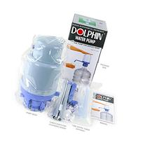 Water Bottle Pump - The Original Dolphin Manual Drinking