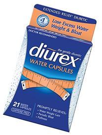 Diurex Water Capsules, 21 Count Capsules