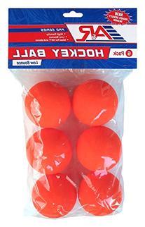 A&R Sports Hockey Low Bounce Ball , Orange