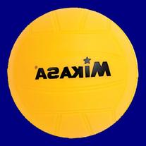 Mikasa 4-inch Mini Promotional Water Polo Ball, Soft Cover-