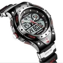 PASNEW High Quality Water-proof Dual Time Unisex Teens Sport