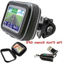 ChargerCity 5-Inch Water Resistant GPS Case Bicycle/