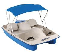Sun Dolphin Water Wheeler ASL 5 Person Pedal Boat with