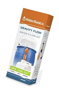 WaterBasics Gravity Flow Water Filter Kit, GRN-II-80