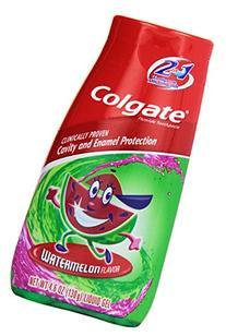 Colg 2n1 Watermelon Paste Size 4.6 O Colgate Kids Watermelon