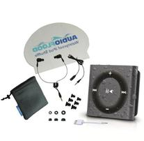 AudioFlood Waterproof Apple iPod Shuffle with Short Cord