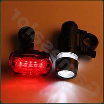 free shipping Waterproof LED Bike Bicycle Head Light+ Rear