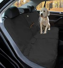 Kurgo Waterproof Car Bench Seat Cover for Dogs, Black