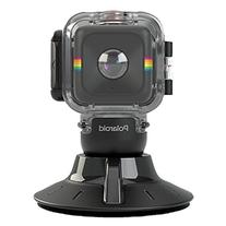 Polaroid Waterproof Case and Suction Mount for CUBE Action