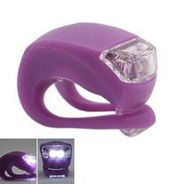 Waterproof Double White LED Light with Purple Silicone for