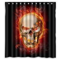 Waterproof Polyester Fabric Shower Curtain For Cool People