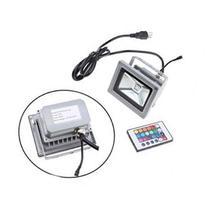 Waterproof Remote Control 10W RGB LED Color Change Flood