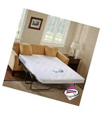 Sleep Philosophy Waterproof Sofabed Full Mattress Pad, 3M
