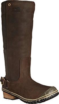 Women's SOREL 'Slim' Waterproof Tall Boot, Size 11 M - Brown