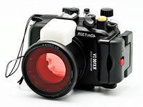 Camdive 40m/130ft Waterproof Underwater Camera Housing for
