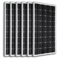6pcs RENOGY 100 Watt 100w Monocrystalline Photovoltaic PV