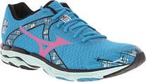 Mizuno Wave Inspire 10 Running Shoe,Caribbean Sea/Shocking