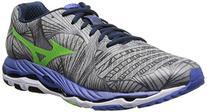Mizuno Men's Wave Paradox 2E Running Shoe,White/Blue/Red,10.