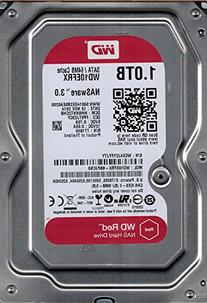 WD Red 1TB NAS Hard Drive - 5400 RPM Class, SATA 6 Gb/s, 64