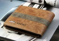 Vivan's Shop Men's 7 Weapons Short Wallet