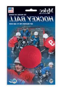 Mylec Hot Weather Hockey Balls,  RED