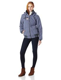 Carhartt Women's Weathered Duck Wildwood Jacket,Merlot ,X-