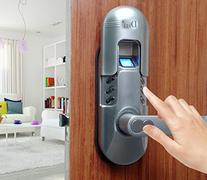 Weatherproof Digital Electronic Keypad and Fingerprint Door
