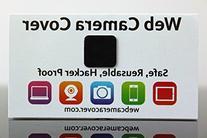 WebCam Cover Solid Black 10 Pack - Laptop and Tablet Webcam