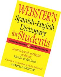 Webster's Spanish-English Dictionary for Students, Second