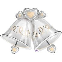 Wedding Bells Super Shape Balloons