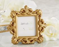 Wedding Favors Royale Gold Baroque Place Card Photo Holder