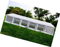 OTLIVE 40x20 ft Wedding Tent Party Easy Gazebo Steel Frame