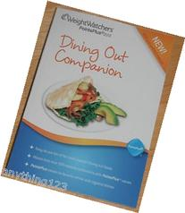 Weight Watchers PointsPlus Plan 2012 Dining Out Companion