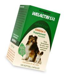 Welactin Canine Soft Gel - 120 ct