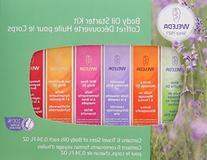 Weleda Body Oil Essentials Kit 6 pc
