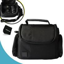 Well Padded Fitted Medium DSLR Camera Case Bag w/ Zippered