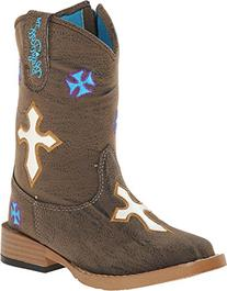 Blazin Roxx Western Boots Girls Sierra Kids 8.5 Infant Brown