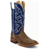 Justin Western Boots Mens Stitched Delta Cowhide P8129