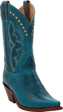 "Justin Boots Women's Western Fashion 11"" Boot Narrow Square"